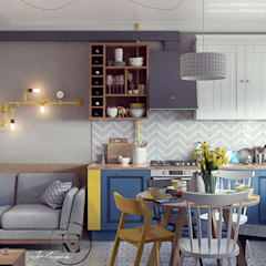 Cocinas equipadas de estilo  por Iv-Eugenie
