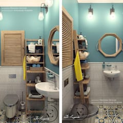 Baños de estilo  por Iv-Eugenie