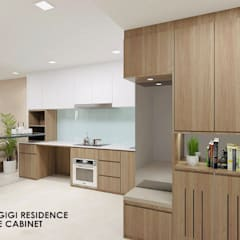 Kingsford Waterbay :  Built-in kitchens by Swish Design Works,Modern