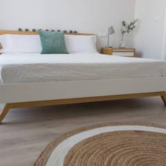 EL DORMITORIO DE ISABEL Y ALBERTO: Dormitorios de estilo  de KELE voy a hacer