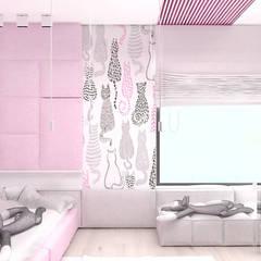 LITTLE BY LITTLE | II | Wnętrza domu: styl , w kategorii Pokój dla dziwczynki zaprojektowany przez ARTDESIGN architektura wnętrz
