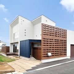 Single family home by 空間工房株式会社