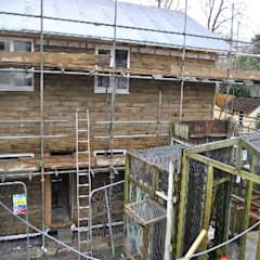 Newquay Zoo - Facilities & Staff Room:  Detached home by Building With Frames