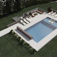 Garden Pool by arq.squiligotti