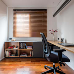 Study/office by INÁ Arquitetura