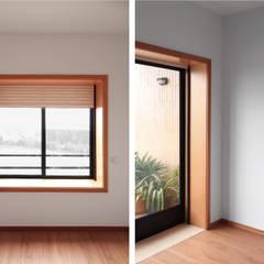 Apartamento Arcozelo Janelas e portas minimalistas por PortoHistórica Construções SA Minimalista