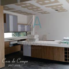 cocina : Cocinas integrales de estilo  por ANKORA ARQUITECTOS