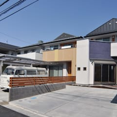 Terrace house by (株)独楽蔵 KOMAGURA