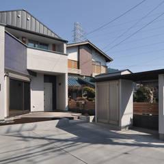 川越市新宿町 街中の家(土間路地のある家): (株)独楽蔵 KOMAGURAが手掛けた一戸建て住宅です。,オリジナル