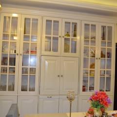 غرفة السفرة تنفيذ Neun Designs Pvt.Ltd.