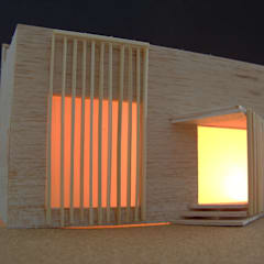 Maqueta: Casas de madeira  por IC Point Creative Solutions