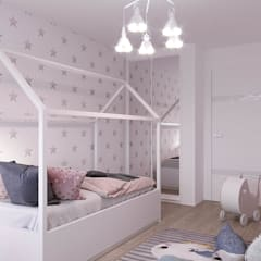 Girls Bedroom by CLAIRRESTUDIO