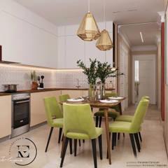 """Гармония роскоши и природы ЖК """" Татьянин Парк"""": Встроенные кухни в . Автор – IvE-Interior,"""