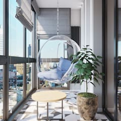 Balcony by Дизайнер интерьера Оксана Васильева