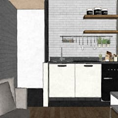 Small kitchens by B-HOUSE