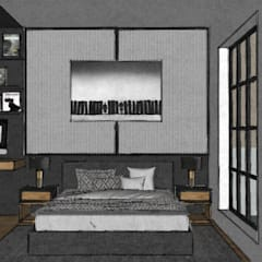Small bedroom by B-HOUSE