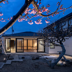 Wooden houses by 遠藤誠建築設計事務所(MAKOTO ENDO ARCHITECTS)