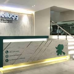 Bellugg : Delivery your luggage:  อาคารสำนักงาน ร้านค้า by PANI CREAT STUDIO CO., LTD.