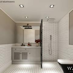 WALL INTERIOR DESIGN – H.B. EVİ BANYO PROJESİ:  tarz Banyo