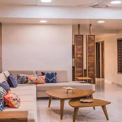 Gandhi Residence : Living Room By Inklets Studio