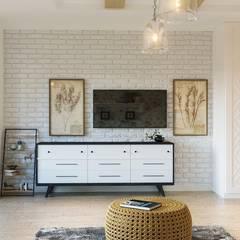 Dressing room by Архитектурно-дизайнерское бюро «SVETLOVO», Scandinavian