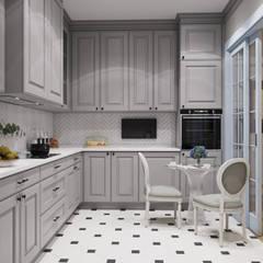 Kitchen by Студия дизайна интерьера Натальи Патрушевой