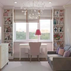 Nursery/kid's room by Студия дизайна интерьера Натальи Патрушевой,