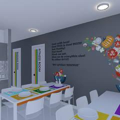 Aktif Mimarlık  – Odan  Üsküdar Kız Öğrenci Apartı:  tarz Oteller