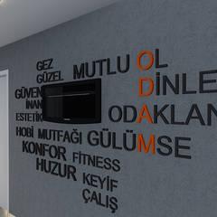 Hoteles de estilo  por Aktif Mimarlık
