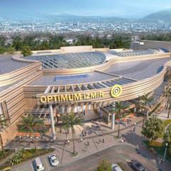 Aktif Mimarlık  – Optimum Alışveriş Merkezi - İzmir:  tarz Alışveriş Merkezleri