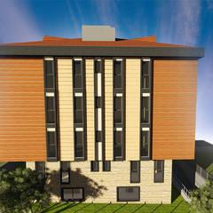 Urgancı Apartmanı Endüstriyel Evler Aktif Mimarlık Mimarlık Dek.İnş.Malz.San.Tic.Ltd.Şti. Endüstriyel