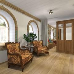 Архитектурная студия 'Арт-Н':  tarz Küçük Yatak Odası