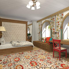 Teen bedroom by Архитектурная студия 'Арт-Н', Country