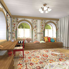 Nursery/kid's room by Архитектурная студия 'Арт-Н'