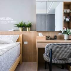 غرفة نوم تنفيذ 築本國際設計有限公司