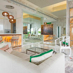 Japanese Design Living Room by Design Intervention:  Living room by Design Intervention