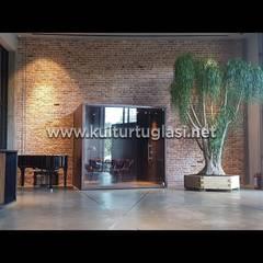 Paredes y pisos mediterráneos de Kültür Tuğlası Mediterráneo