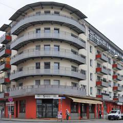 Umbau und Sanierung Mehrfamilienhaus in Karlsruhe:  Mehrfamilienhaus von Schnitzer Plank Architekten