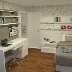 cozinha de escritório - Casa Comercial por Silvana Lima e UrbanaDI Moderno