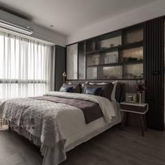 睡眠空間 Modern Bedroom by 鼎士達室內裝修企劃 Modern Marble