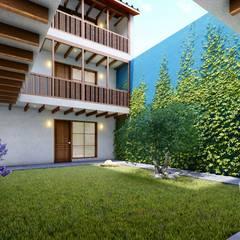 الممر والمدخل تنفيذ FRANCO CACERES / Arquitectos & Asociados