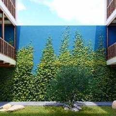 Front yard by FRANCO CACERES / Arquitectos & Asociados