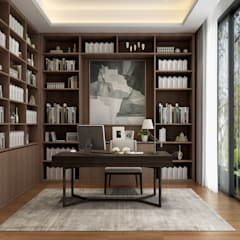 Study/office by VH INTERIOR DESIGN
