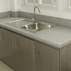 Salt and Pepper Granite Kitchen Countertop in Talamban Cebu City:  Kitchen by Stone Depot