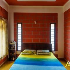 Archemist Architects:  tarz Yatak Odası, Tropikal