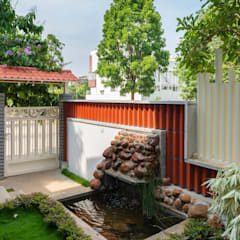 Garden Pond by Archemist Architects
