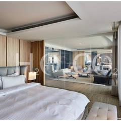 主臥室:  小臥室 by 光合作用設計有限公司