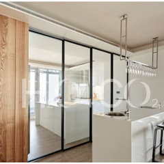 ห้องครัวขนาดเล็ก by 光合作用設計有限公司
