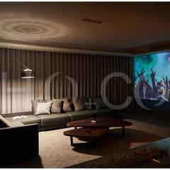 光合‧景宴:  視聽室 by 光合作用設計有限公司,