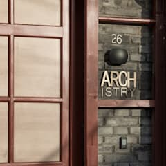 Front doors by ARCHISTRY design&research office
